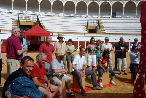 team-building-en-antequera-percusion-flamenca-eventos-exploramas-4